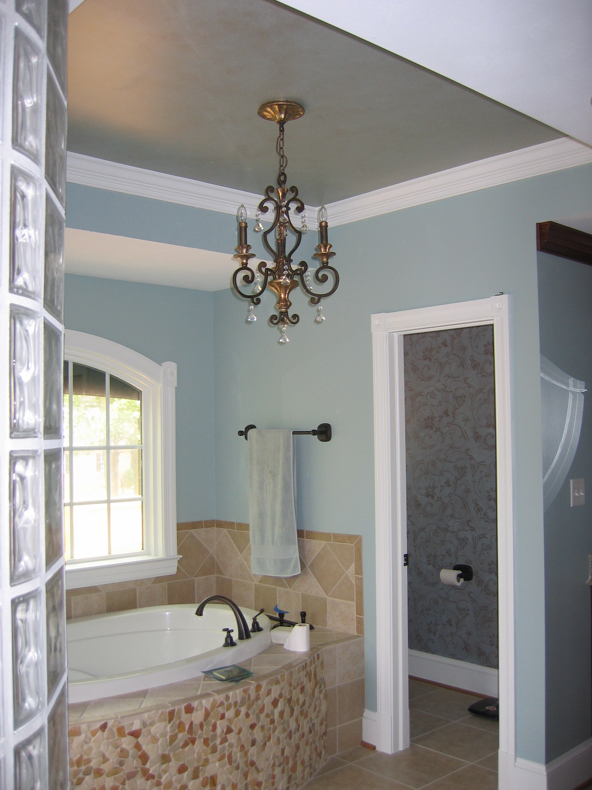 Ceiling treatments for Ceiling designs for bathroom